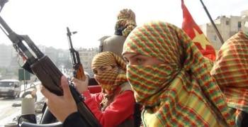 Более 30 исламистов уничтожили отряды курдов в Алеппо