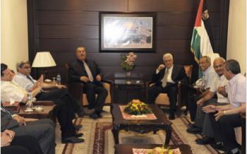 Делегация Хадаш - КПИ встретилась с Абу Мазеном в Рамалле