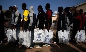 Чёрные рабы в Ливии