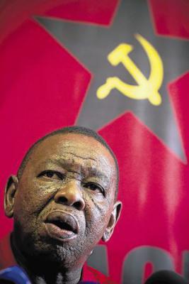 Блейд Нзиманде, генеральный секретарь Южно-африканской коммунистической партии
