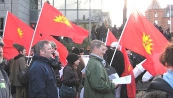 """Коммунистическая партия Ирландии: """"Нет - приёму английской монархии!"""""""