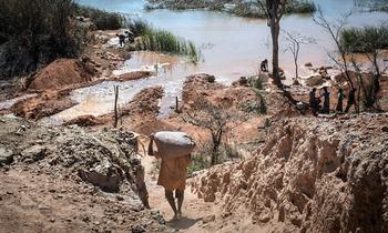 Кобальтовые рудники в Конго