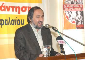 Гиоргос Маринос, член Политбюро ЦК КПГ