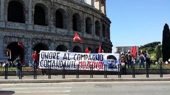 Акция солидарности с Донбассом и памяти А. Мозгового