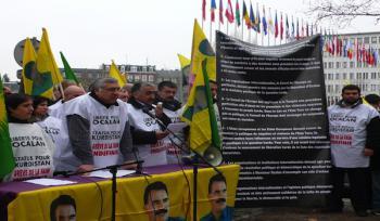 Голодовка курдских активистов в Страсбурге