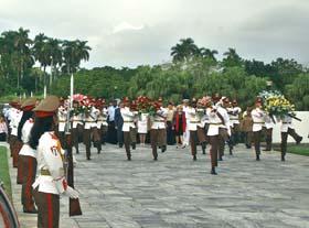 Куба отметила день Великой Октябрьской революции