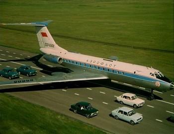 Ту-134 мог садиться на обычное шоссе